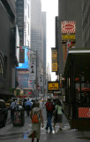 East View of 45th toward Times Square