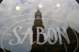 SABON Window Reflection - Jefferson Market Courthouse