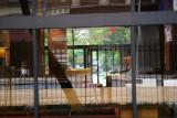 NYU Law School Dormitory Lobby with Reflections