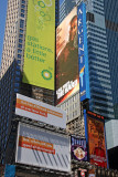 Times Square on Brazil Day