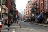 Little Italy at Mulberry & Broome Street - Downtown View