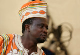 A chief from Sierra Leone