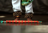 feet of a young tamil dancer