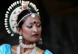 Odissi dancer (indian temple dance)