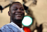 a smiling guy from Sierra Leone
