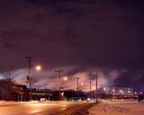 White Smog, Purple Sky
