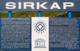 Sirkap - UNESCO Information  Sign - Taxila 380-2j.jpg