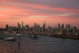 Melbourne from St Kilda pier