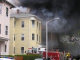 Dorrance Street fire Worcester, MA