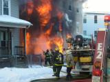 Arlington Street fire Worcester, MA