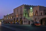 Rhodes by night