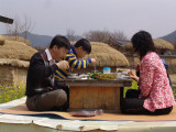 Lunch time at Hahoe village