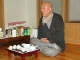 Tea time at Chaeunsa