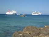cruise ships at port