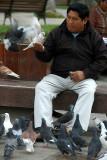 Making friends in Santa Cruz, Bolivia