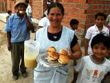 Lunch in Nueva Belen