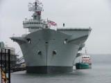 HMS Illustrious-in Bergen-Oslo-Faerder-Skagerak