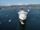 Queen Mary 2 in Bergen - Norway