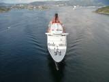 Queen Elizabeth 2 in Bergen Norway 2007