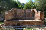 Water collection and distribution at Butrint