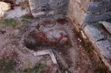 Surviving mosaic detail at Butrint