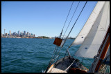 Sydney From a Sailboat