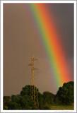 Rainbow at sunset (1)