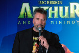 Happy chappy Luc Besson