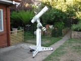 New telescope support pier