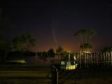 Comet McNaught over Raffertys Resort Newcastle