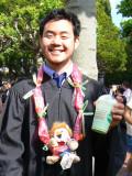 Justin's Graduation At Cal Berkeley - 5/17/07