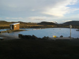 I soaked in this lovely (and smelly) hot lagoon at Mývatn