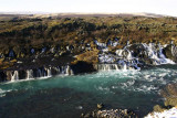Hraunfossar - waterfall without a river first!