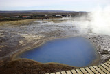 Hot spring at Geysir site