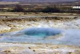 Strokkur geyser at Geysir site