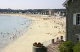 Beach volleyball in Brittany (Bretagne), 2004
