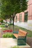 Street Benches Purdue University, IN