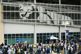 The Lion watches over Beaver Stadium, Penn State University