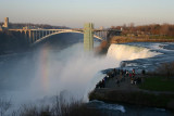 A view of the American falls from Terrapin point, Niagara Falls State Park