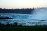 Horseshoe falls in the night, Niagara Falls State Park