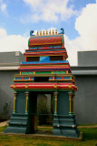 Temple colors, Meenakshi Temple in Pearland, Houston