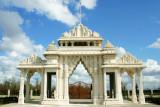 The Ornamental Arch, Swaminarayan temple, Houston