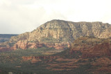 A closer look at the formations from the airport road mesa, Sedona, AZ