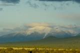 A snow peak in the desert, Sedona, AZ