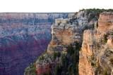 First face, facing sunlight, Grand Canyon National Park