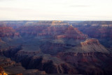The different layers become visible at Mather Point, Grand Canyon National Park
