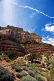 From within the Bright Angel Trail, Grand Canyon National Park