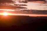 Sun show us a last view, Grand Canyon National Park
