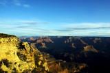 Blue skies, Grand Canyon National Park