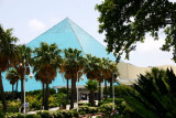 Aquarium pyramid, Moody Gardens, Galveston, TX